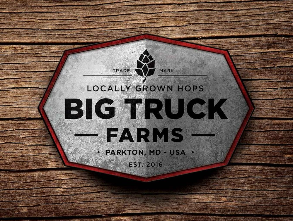 Big Truck Farms Logo Design
