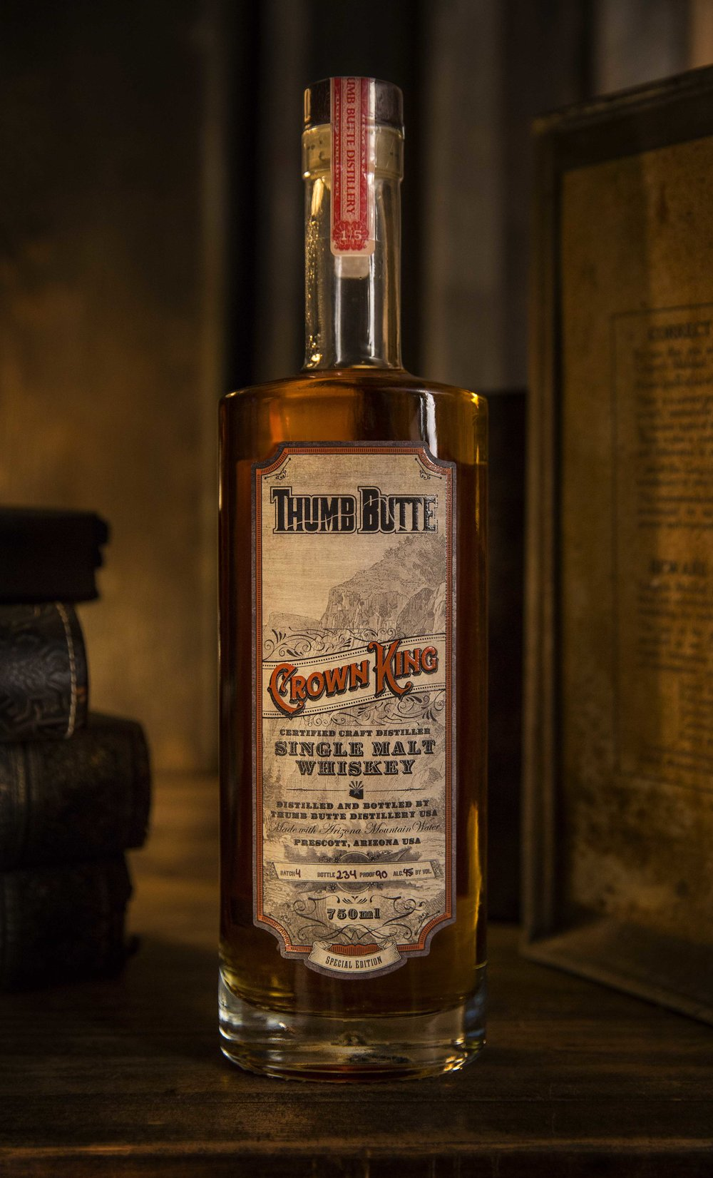 Crown King Label Design by Maverick Design