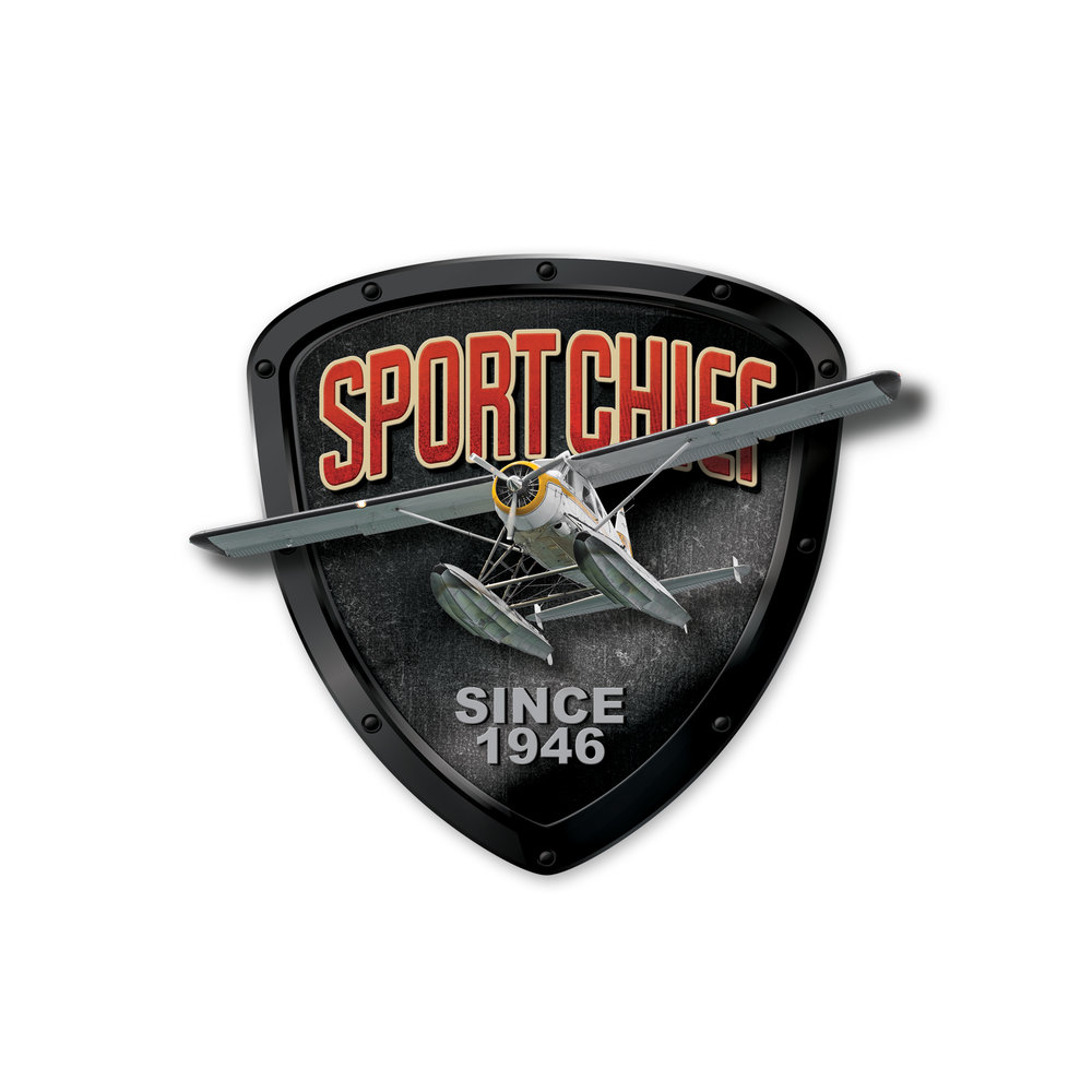 Updated logo design for Sportchief