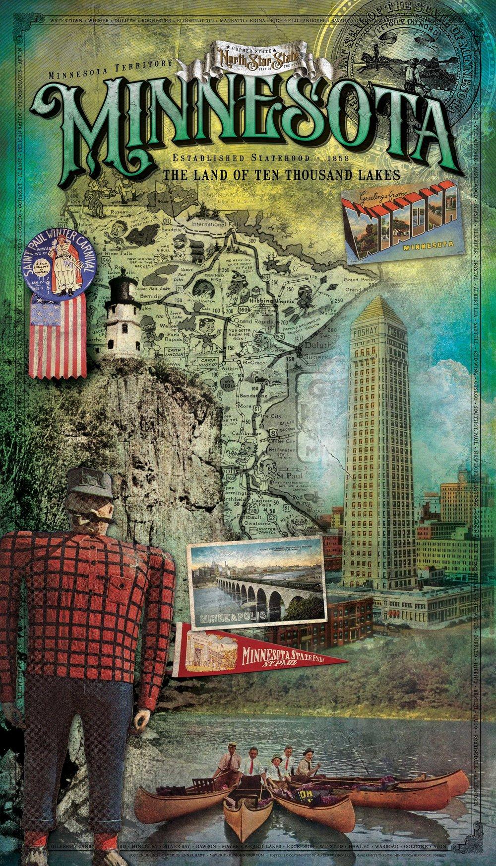 Minnesota Historical Poster