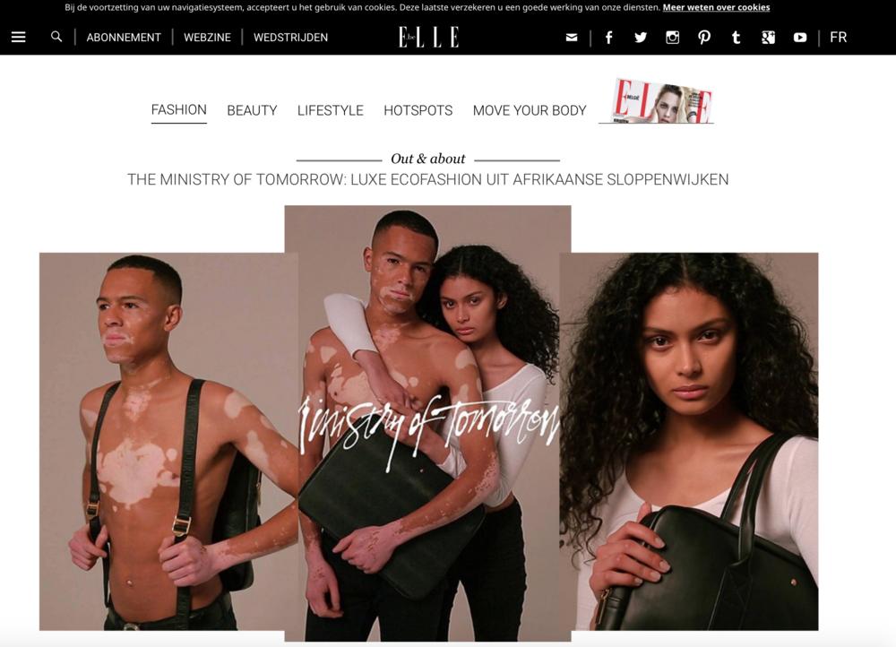 ELLE Magazine Belgium