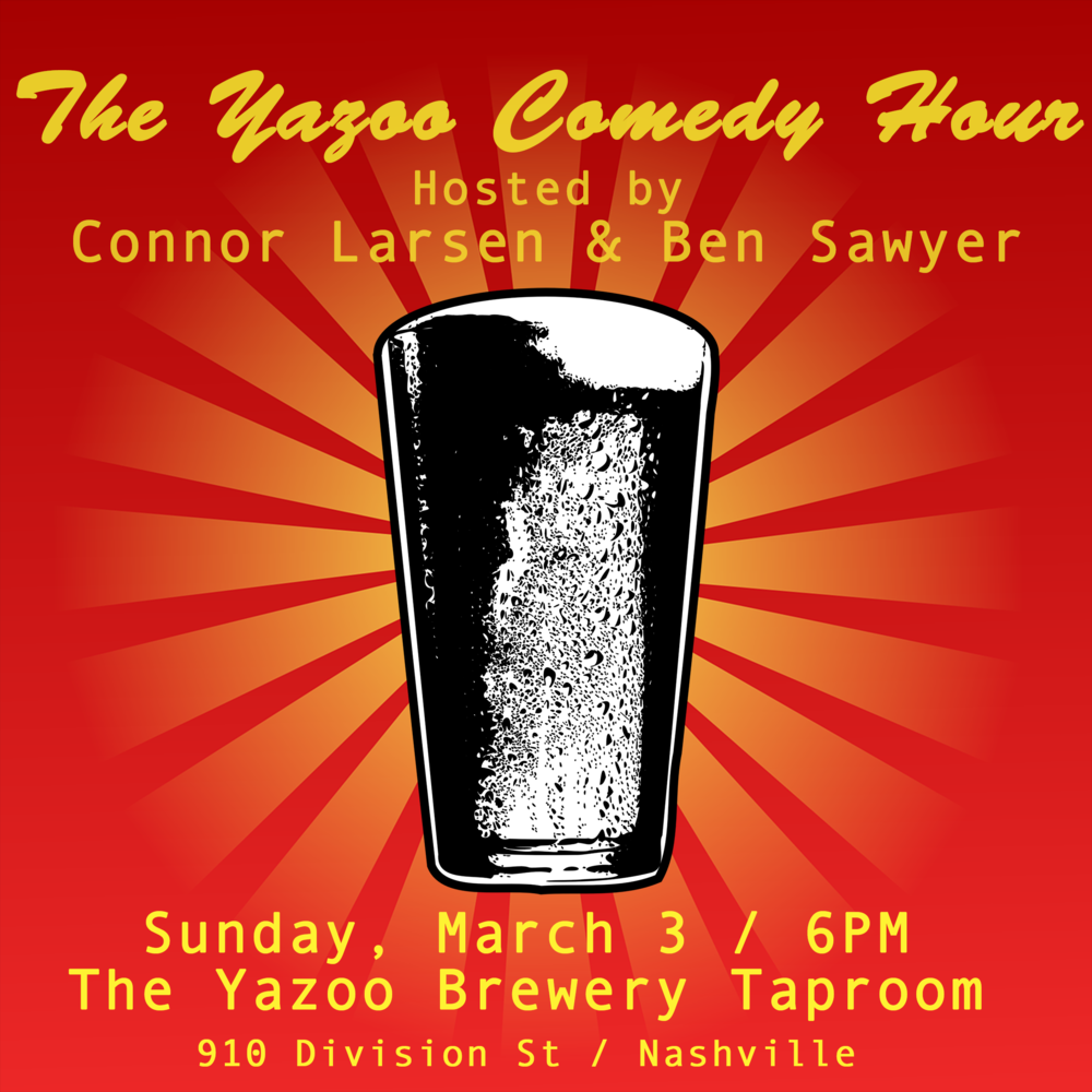 Yazoo Comedy Hour March 2019 flyer.png