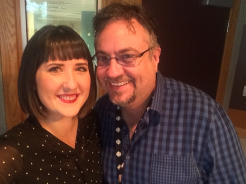 Ellen Doty and Russell Bowers, CBC Daybreak Alberta