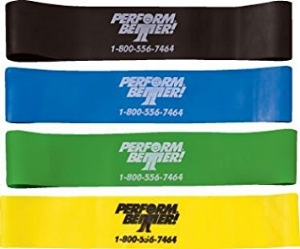 Perform Better Mini Bands!  Available at the Training Station  directly from Coach Samantha.