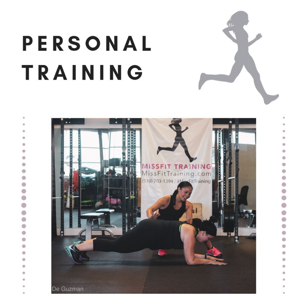 Personal Training  is an individualized program that helps you stay accountable, learn more effective strategies for your goals, and is an opportunity to dig deep into what can really propel you into a more sustainable healthy lifestyle.  You can choose a frequency of 1 session per week to check in and keep you accountable; or, you can train 2-3 sessions per week and really hammer down on your health and fitness goals.   Monthly or Session Packages are available for this Service.