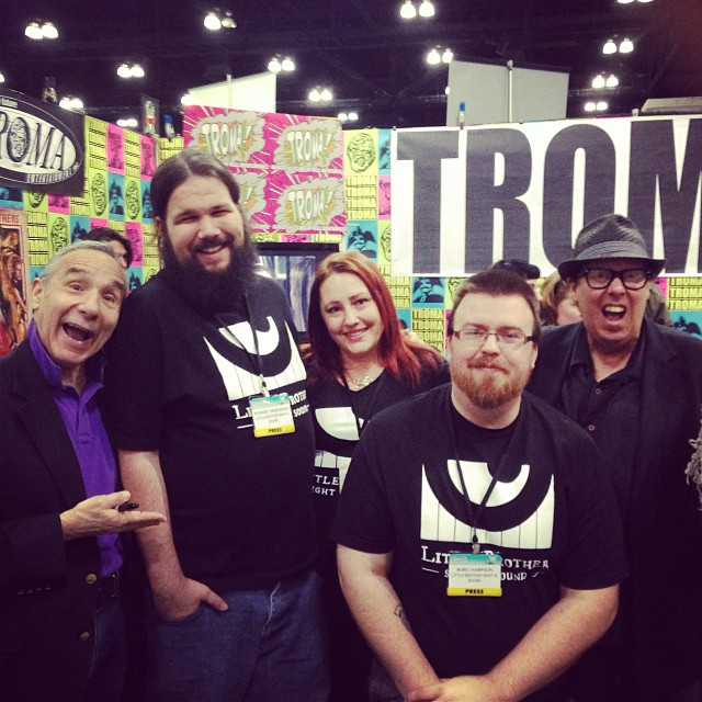 Visiting with Lloyd Kaufman and The original Toxie, Mark Torgl!