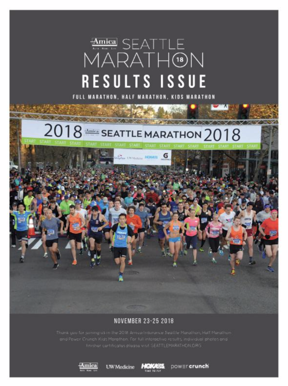 2018 DIGITAL RESULTS ISSUE