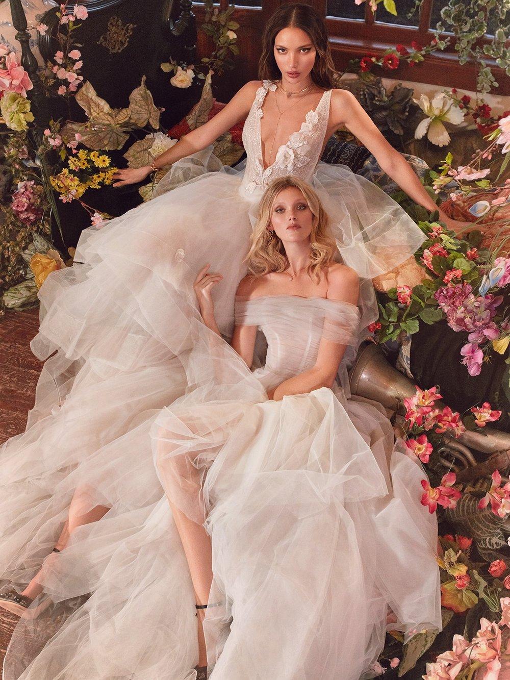 Gowns by  Galia Lahav  via  The White Files