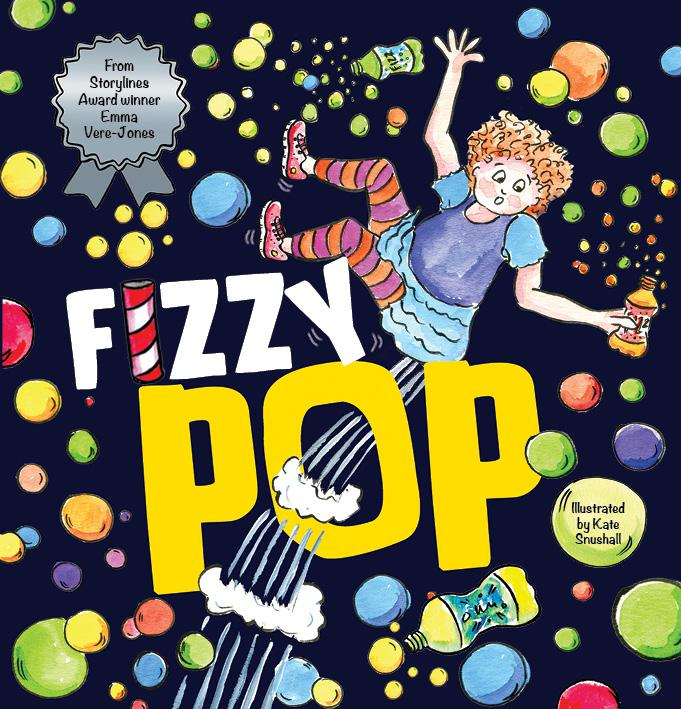 Fizzy Pop   Fizzy Lizzy is addicted to soft drinks. On the day of the school cross country, Lizzy is involved in a carbonated catastrophe.  It takes an ingenious plan from Max Martin and his giant brain to save her.  But will Lizzy change her fizzy ways forever?    Find out more
