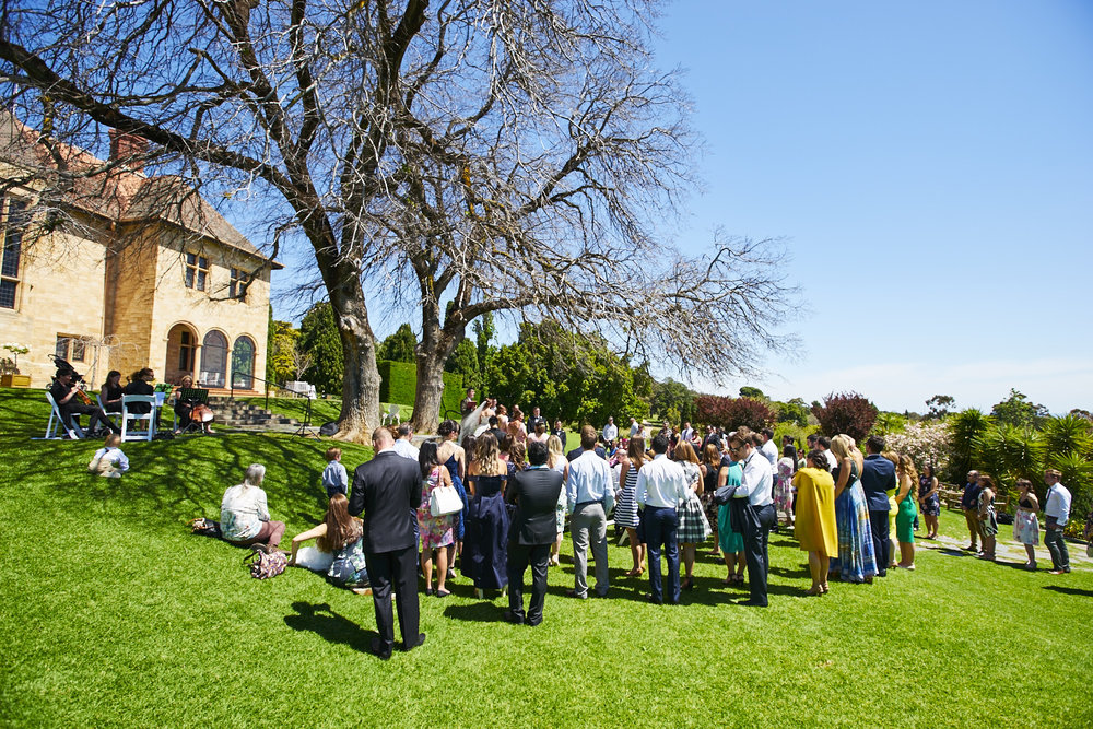 wedding ceremony carrick hill adelaide