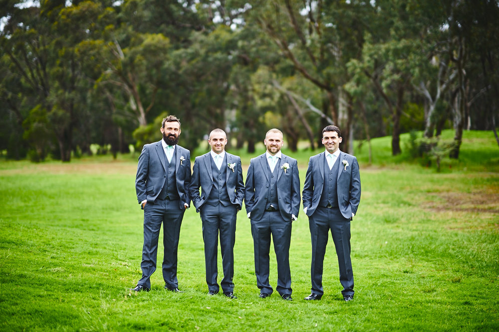 groomsmen belair country club adelaide