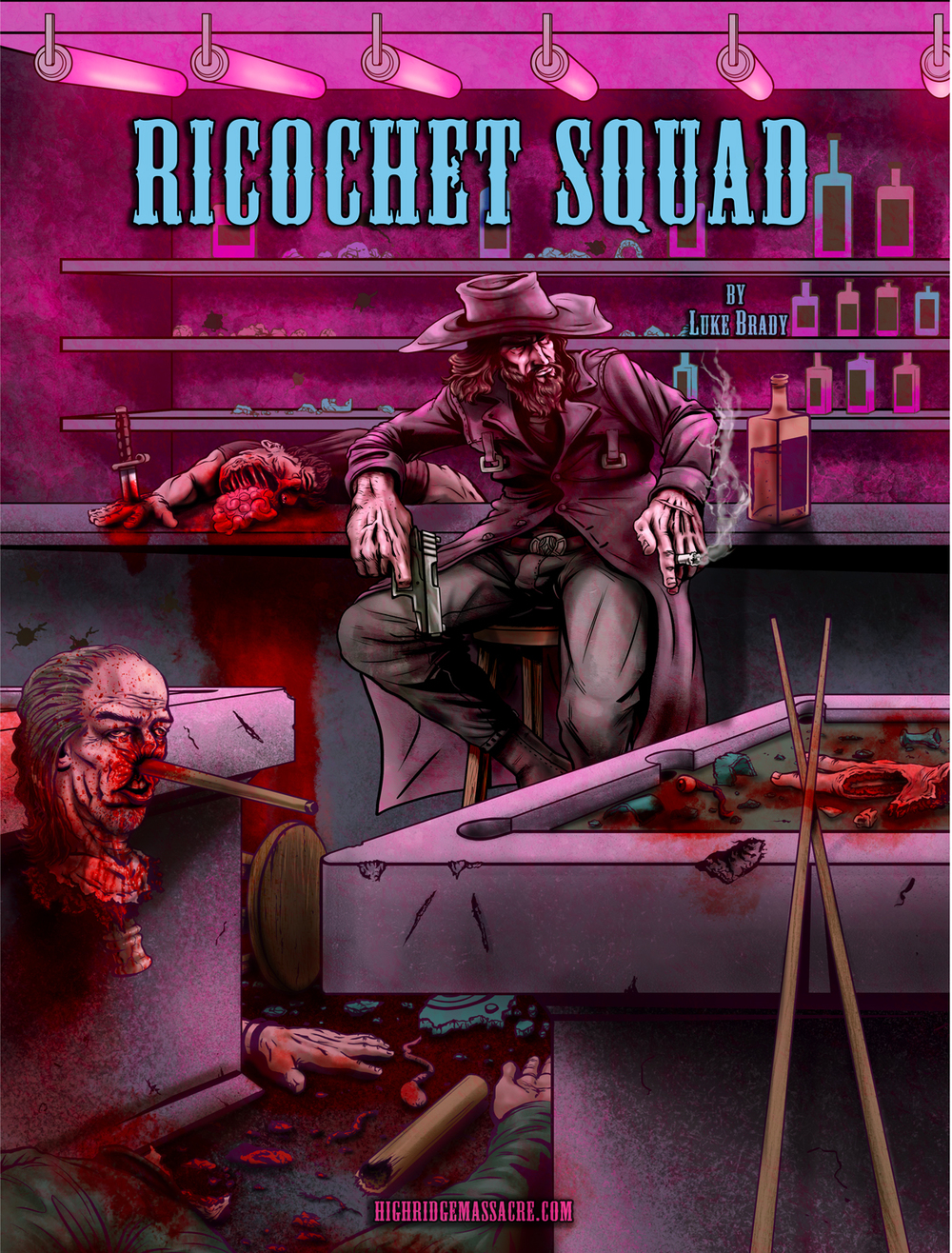 Hendrik The Torpedo - Ricochet Squad Chapter 1 - Art by Riley Schmitz