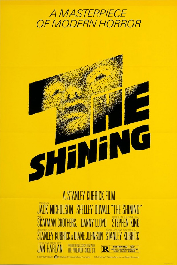 Saul Bass original theatrical poster for The Shining