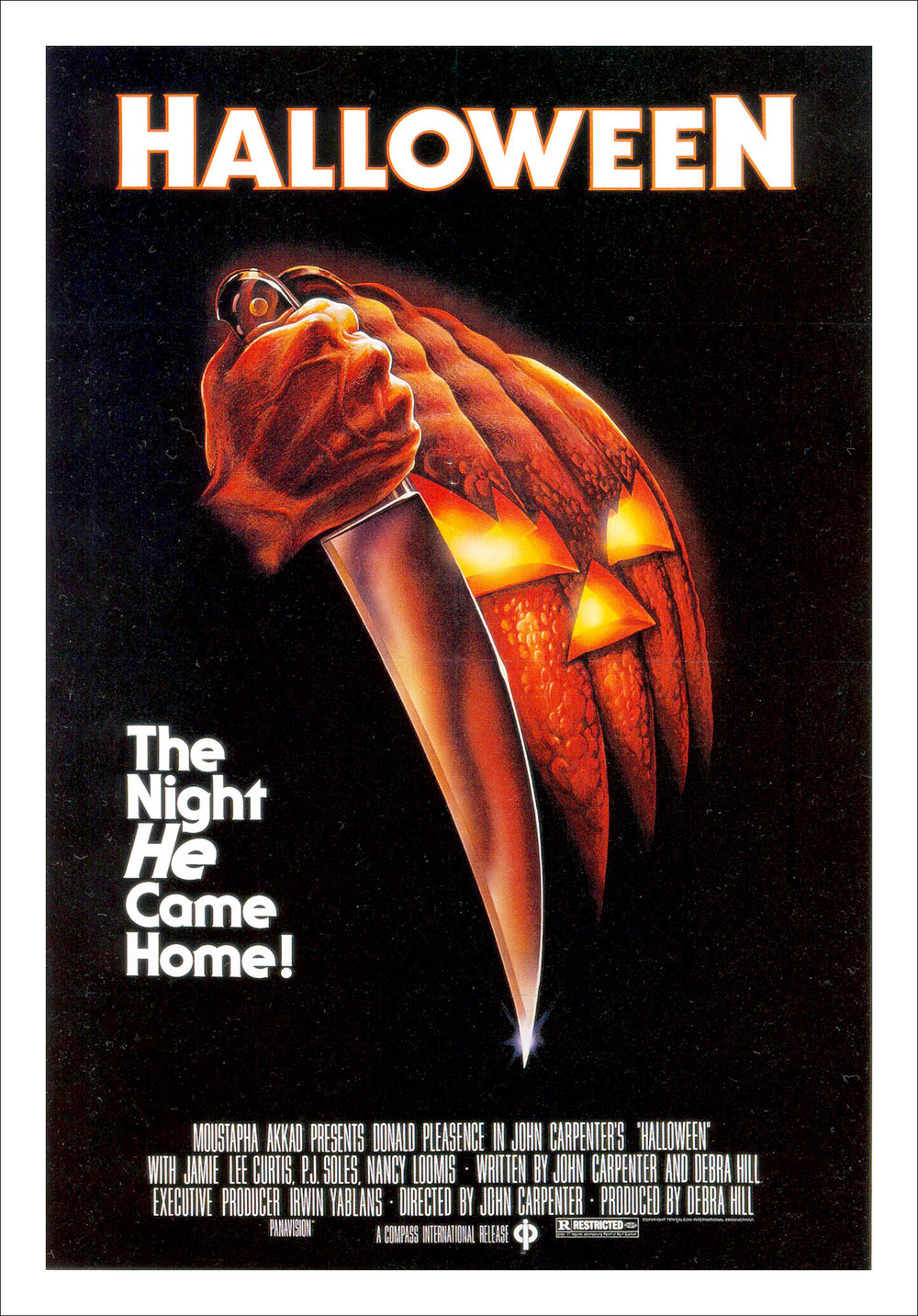 Halloween original theatrical poster by Bob Gleason (1978)