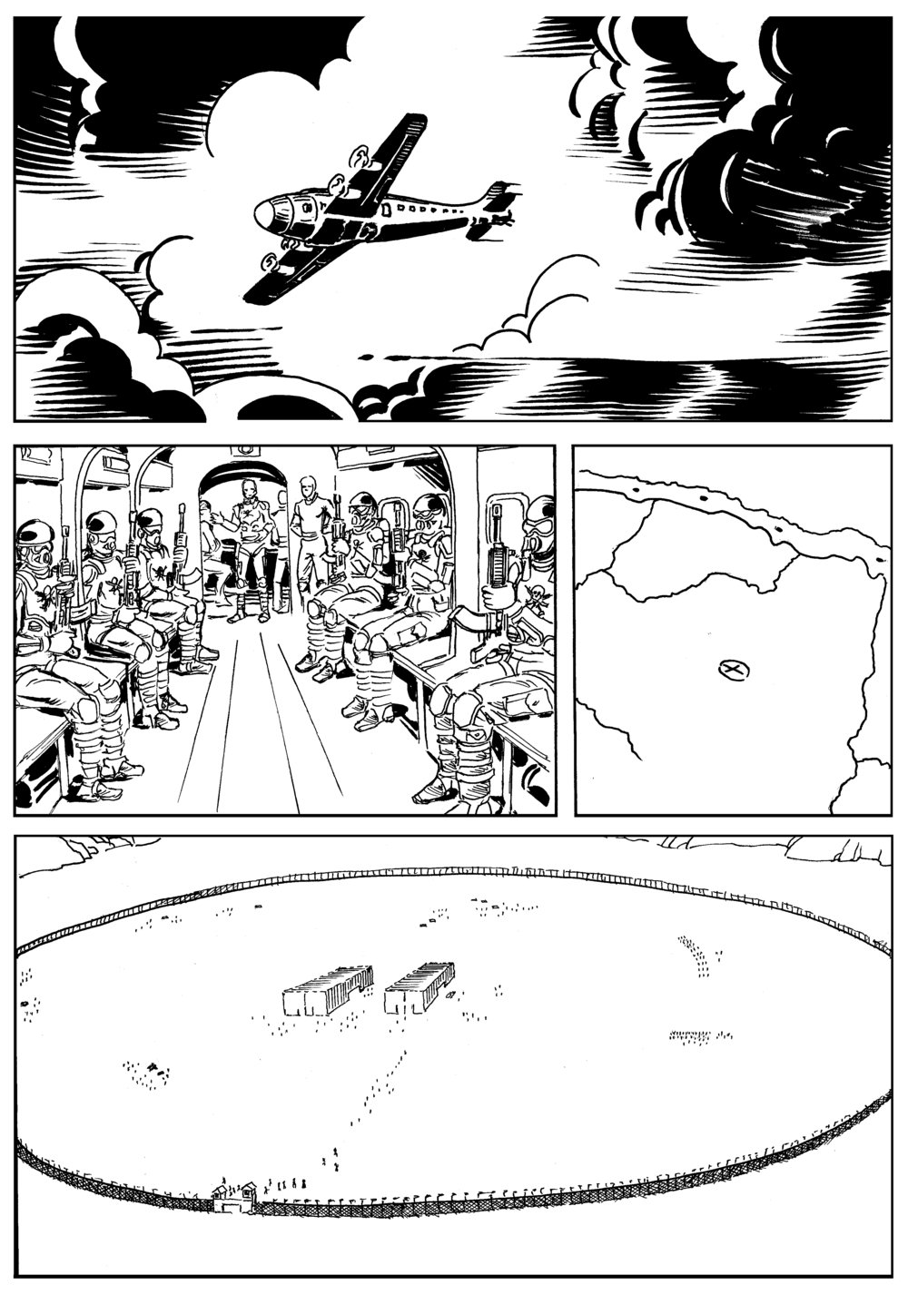 Hendrik The Torpedo - Ricochet Squad Chapter 1 - Art by AC Rillo