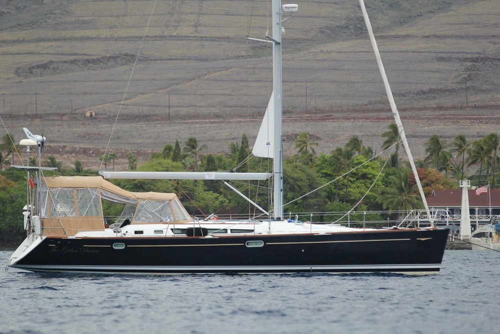 LADY G   This custom sailing yacht  is based in the East Bay.  SF city front pickup available.   Length:  50 feet  Number of Passengers:  6