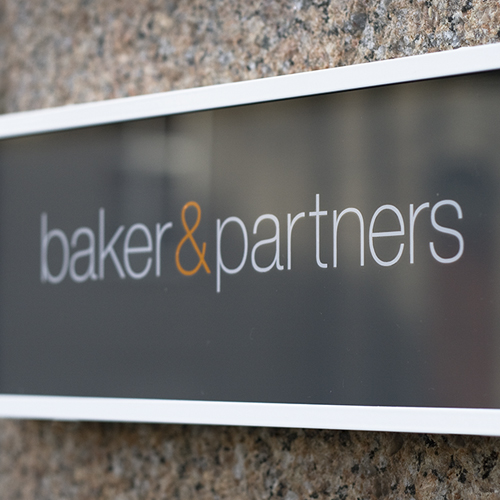 Baker & Partners.   Brand identity creation