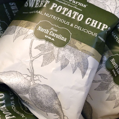Scott Farm.   Sweet Potato Chips.