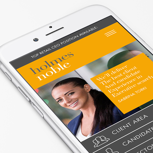 Holmes Noble.  Brand creation and website.