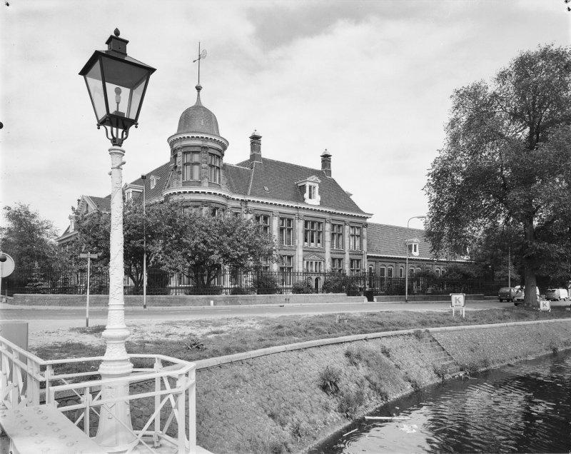 Muntgebouw Utrecht in 1979.Bron:Rijksdienst voor het Cultureel Erfgoed