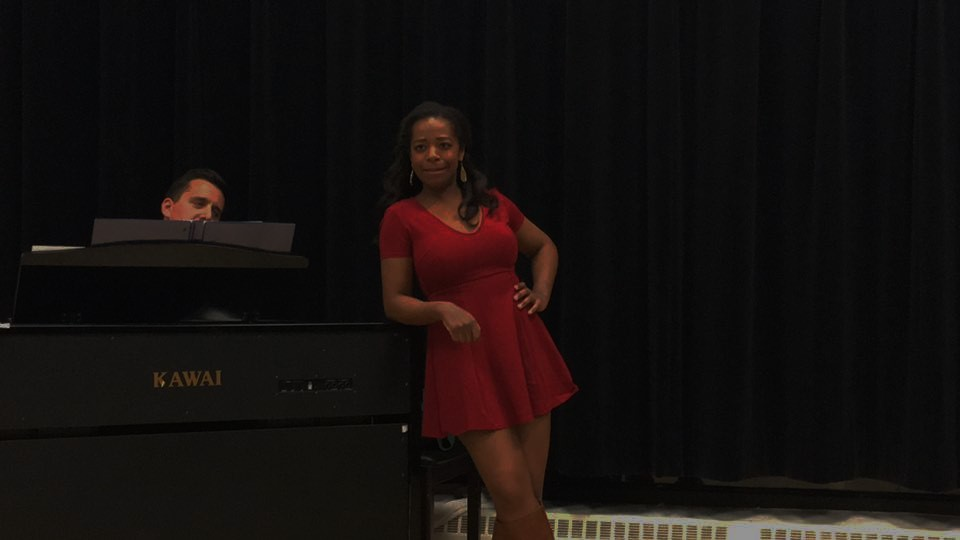 Donovan sings Look At Me Now (The Wild Party) at her Walnut Advanced Musical Theatre showcase