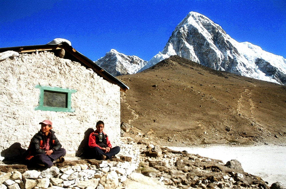 Kala Patthar the last outpost before base camp
