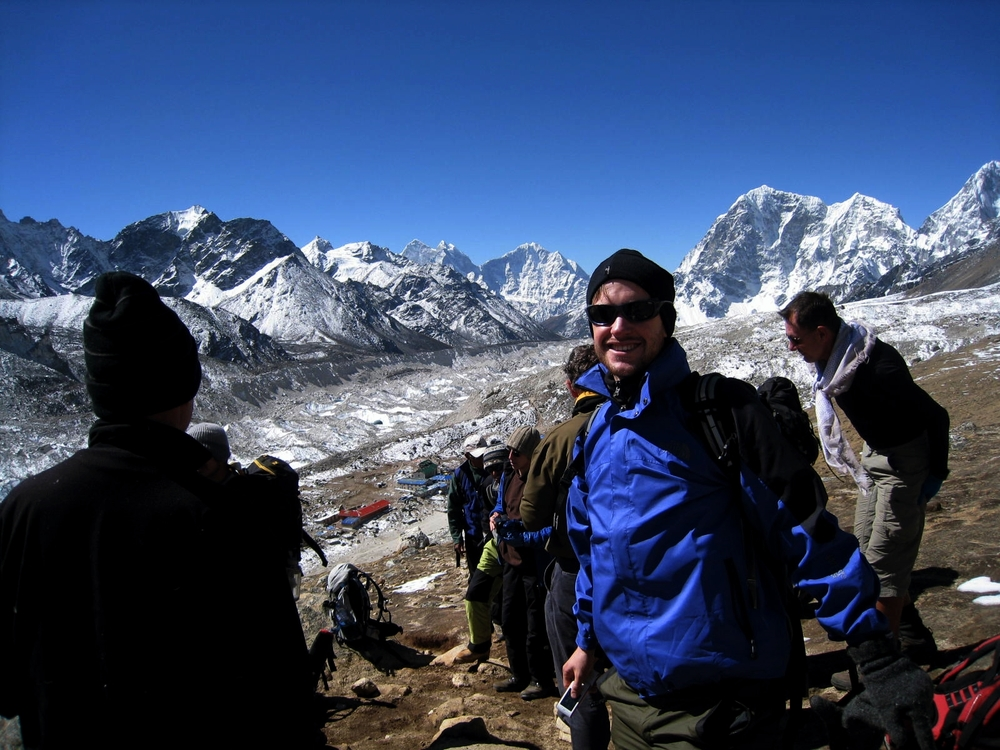Khumbu valley, approaching Everest base camp