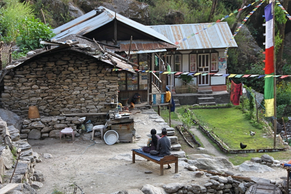 Locals' dwelling - Langtang Valley Trek