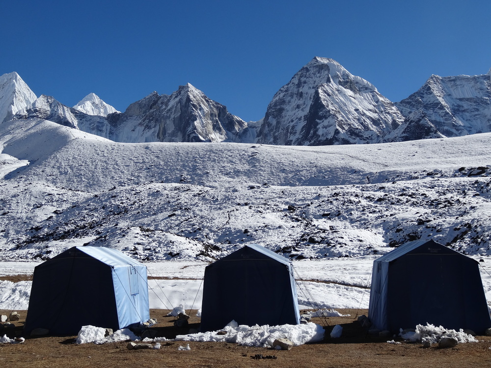 Ama Dablam from Basecamp