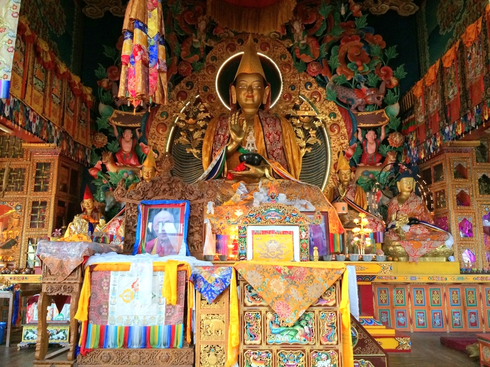 Statue of Buddah in a Monastry