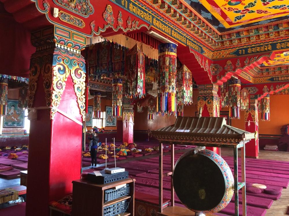 Monastery's gong