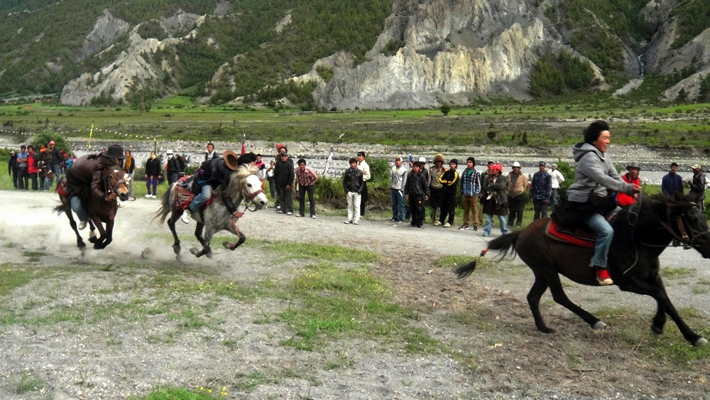 Manang Horse Festival