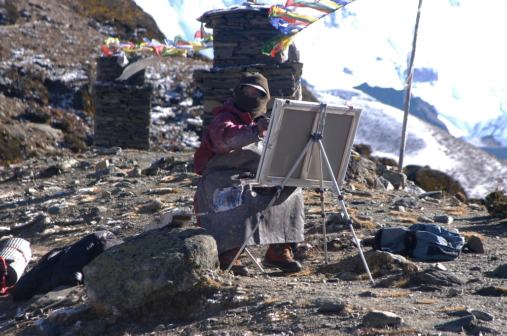 EverestGokyoLake_Painter2_AANepal.JPG