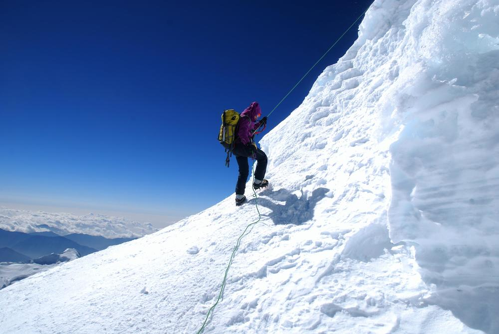 Ascent of Mera Peak