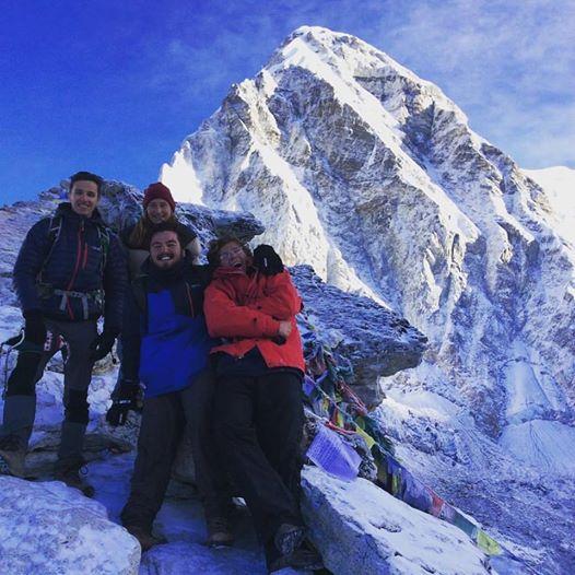 Climb of Mt. Kalapathar at 5'550m