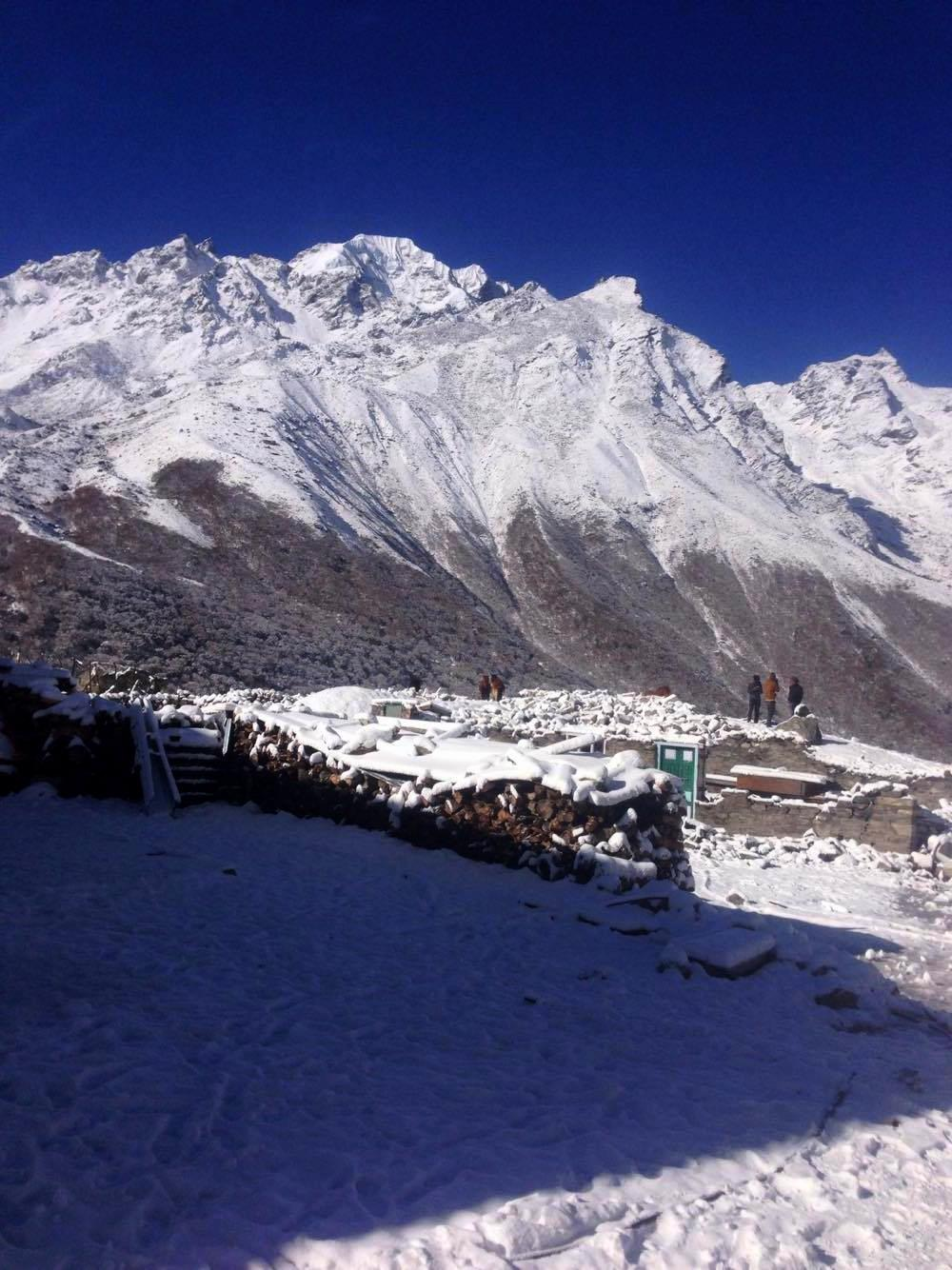 The majestic mountains Langtang Valley Trek