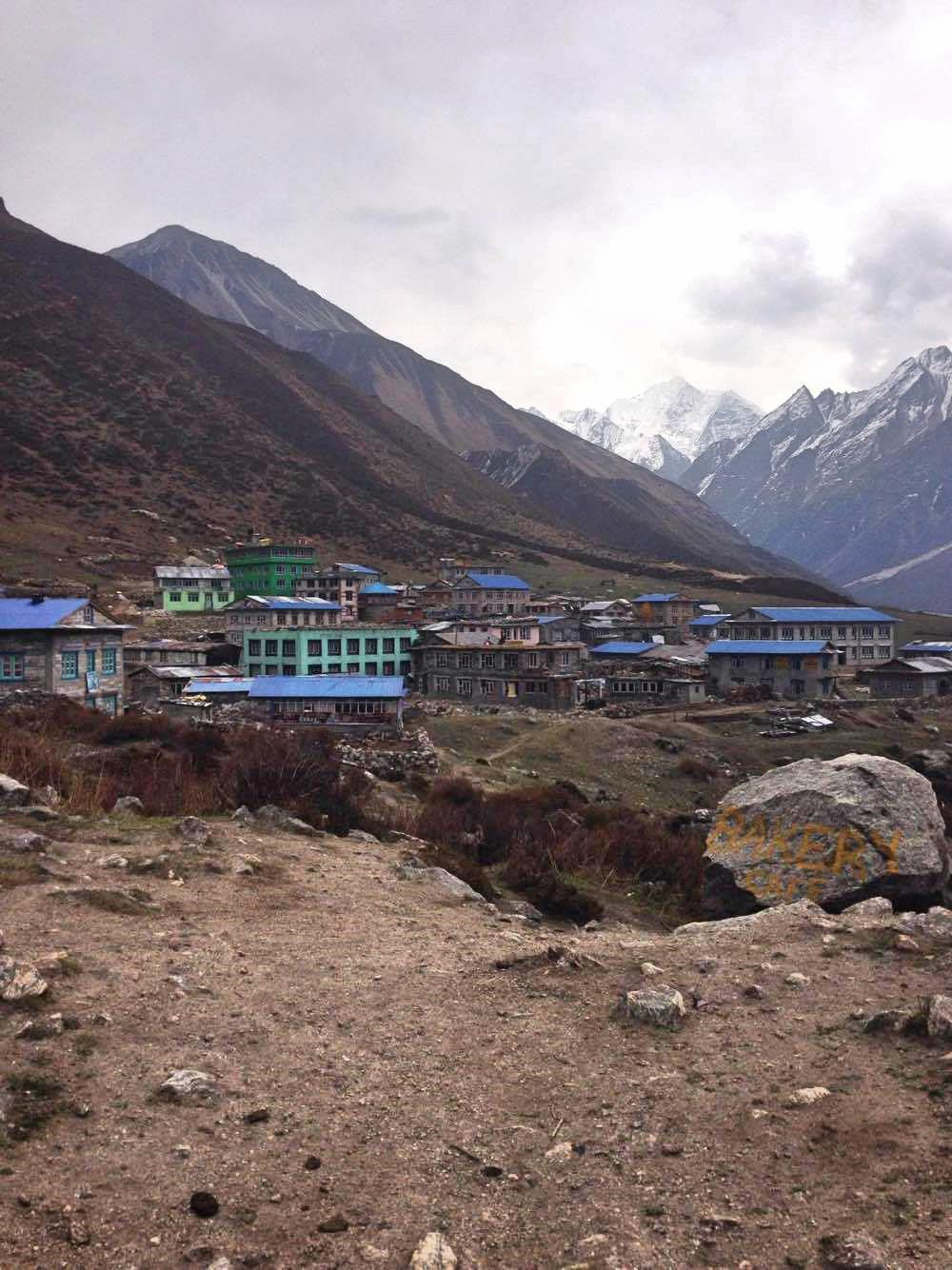 Villages encountered during the Langtang Valley Trek