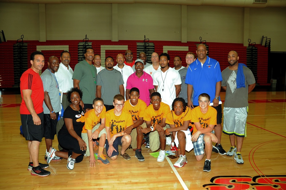Jimmy Jackson basketball camp