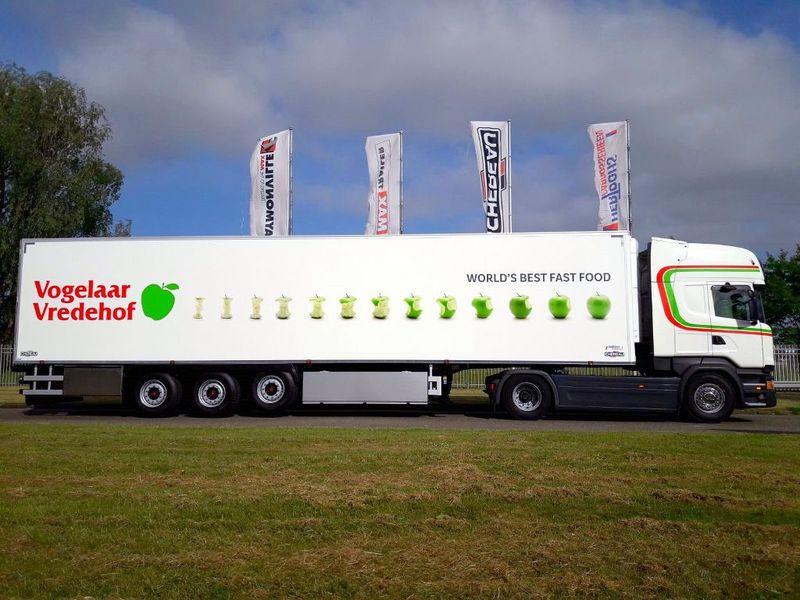 Foto's vrachtwagens door  Hertoghs