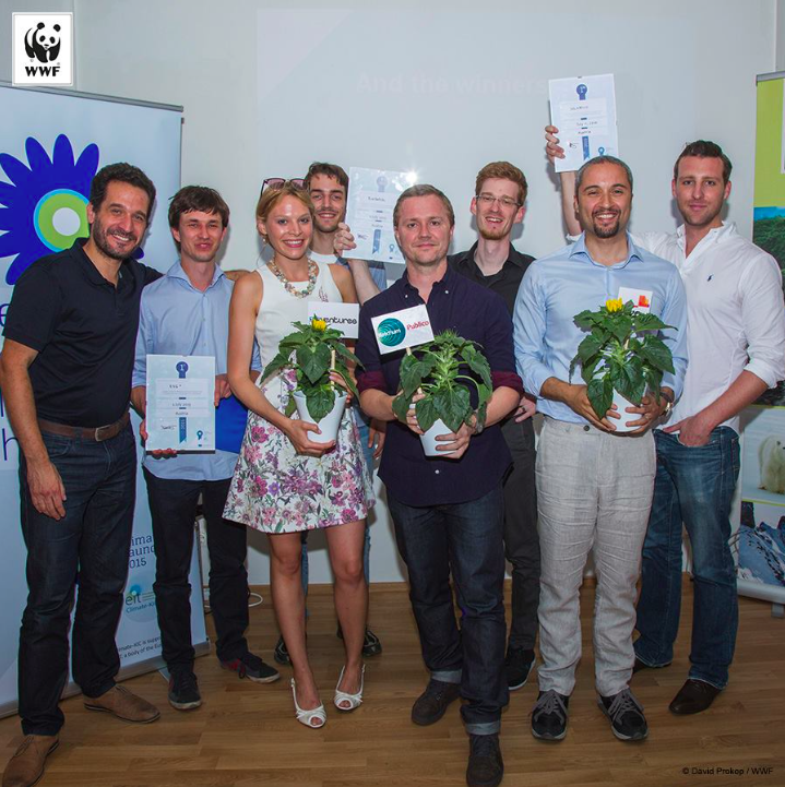 Congratulation to  Robert Praxmarer  and T homas Layer-Wagner  for winning the Austrian  ClimateLaunchpad 2015 , Europe's  larges competition for business ideas on climate protection.  EcoGotchi  will be one of three projects representing Austria on September 4th at the pan European final.   Robert and Thomas will be leading the module:  The Future of Advertising    September 7th till 11th - Akademie Hallein.   all modules more information and application