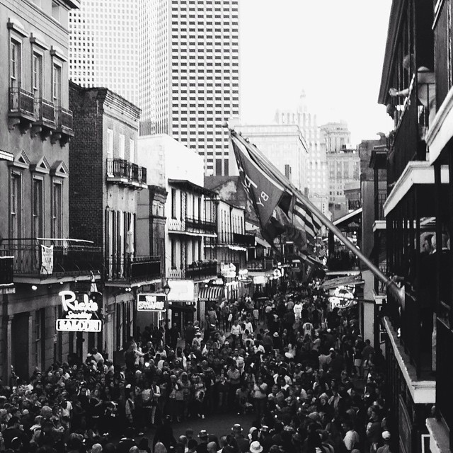 Bourbon Street Crowd