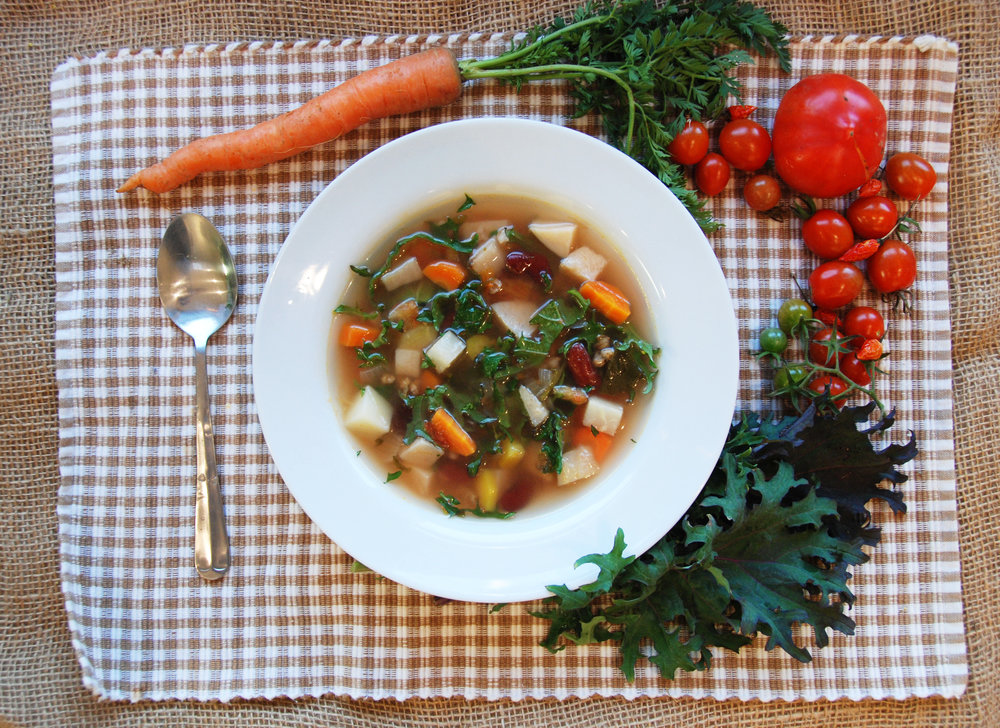 Hearty Kale Soup