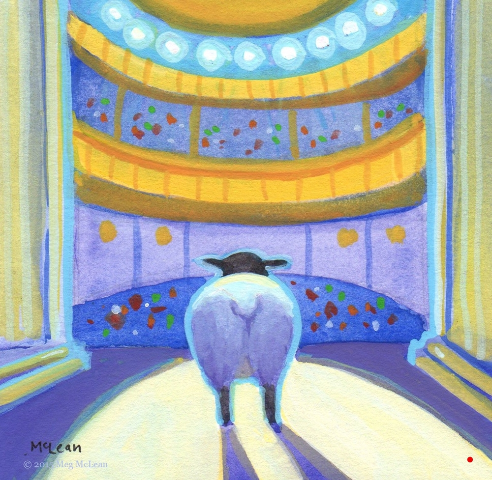 Meg McLean Broadway Sheep