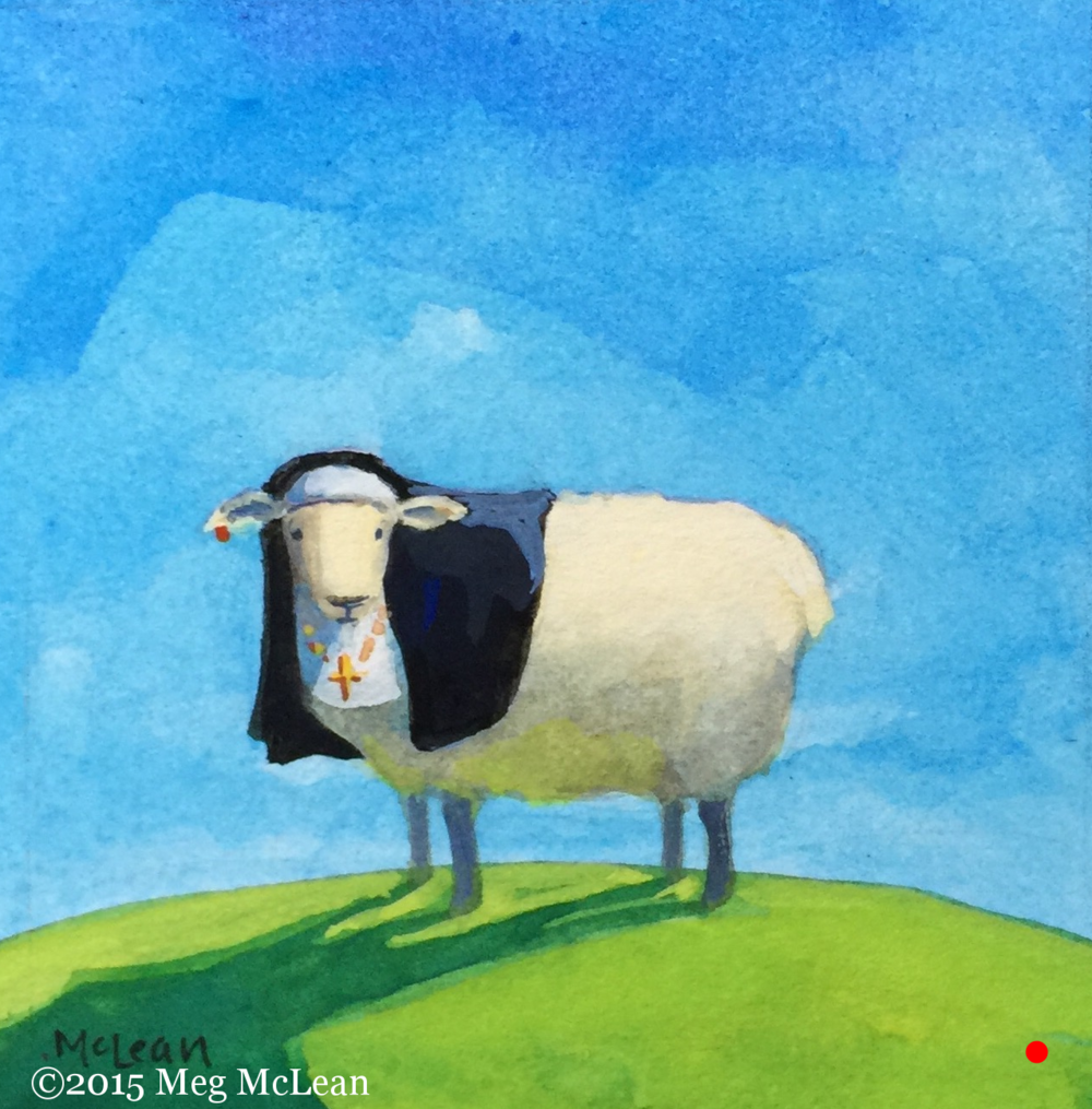 Meg McLean Sister Mary Helen Sheep