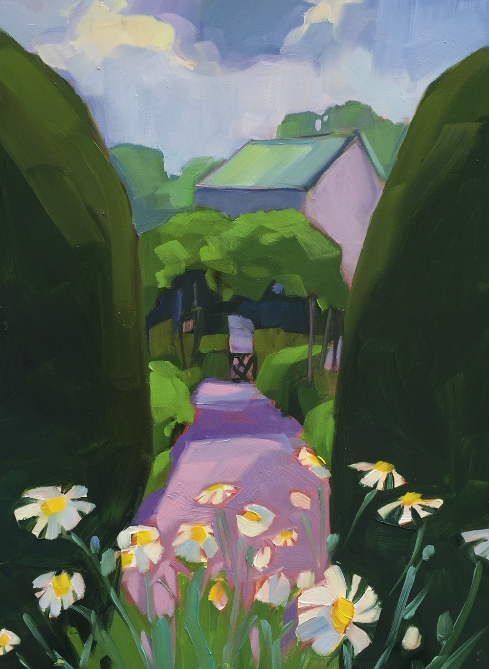 Through the Topiary