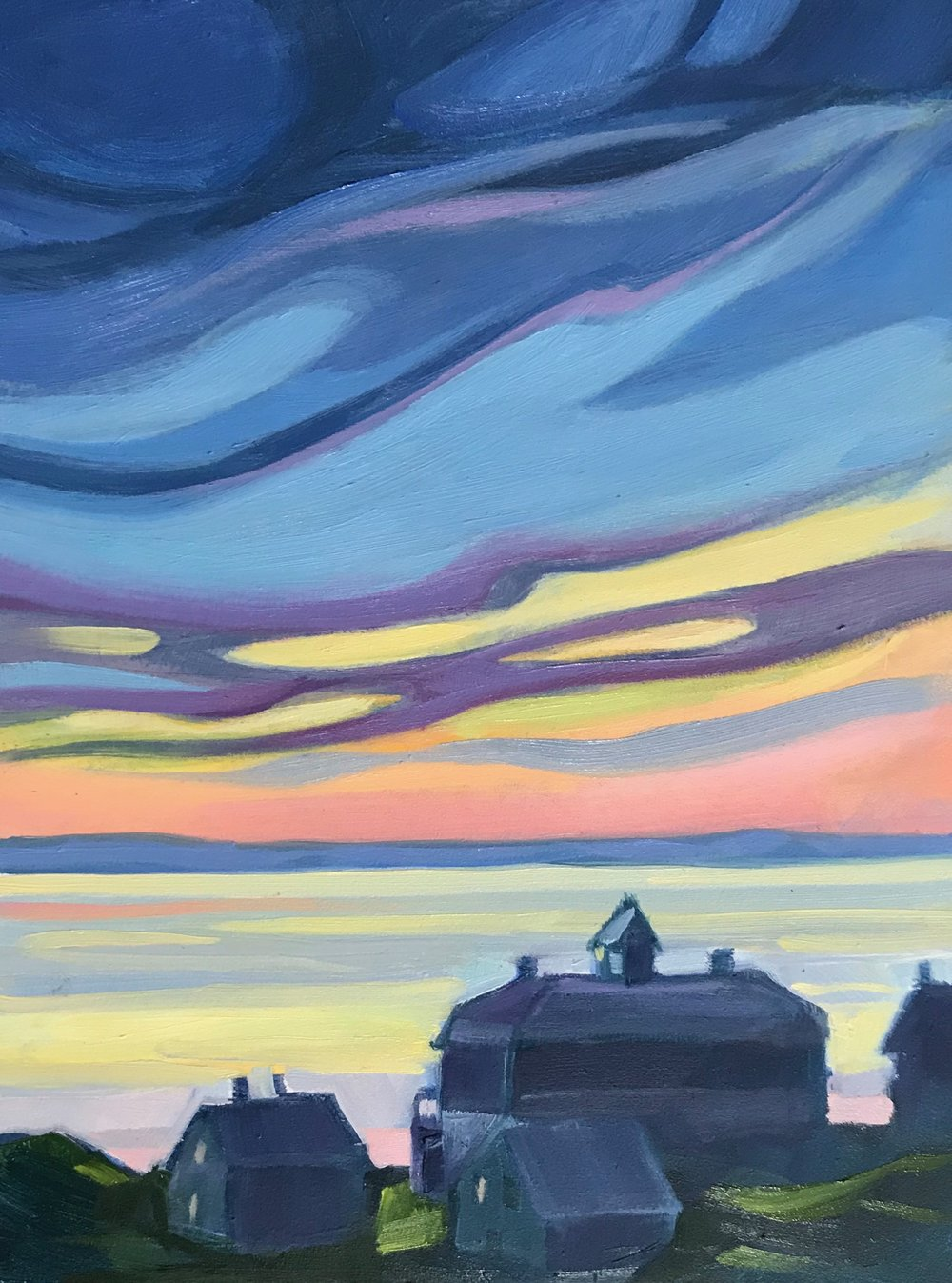 June Twilight, Monhegan