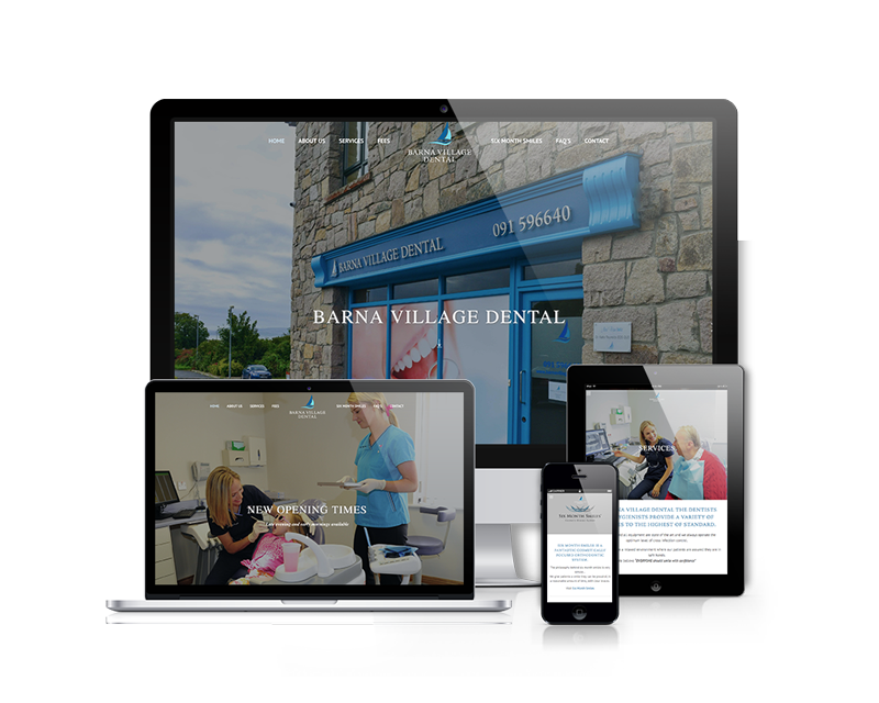 Barna Village Dental Website