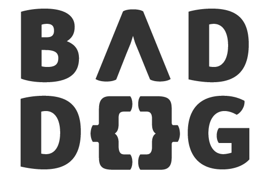 Bad Dog :: modern website and logo design