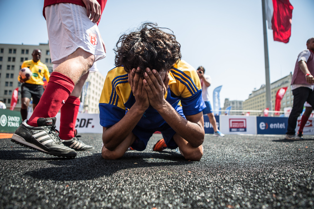 Homeless World Cup 2014, Santiago, Chile