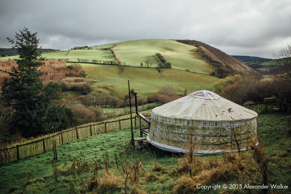 Francesca Cassini's Yurt on Old Chapel Farm